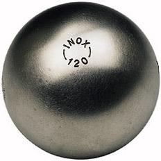 La Boule Bleue Inox 120