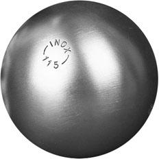 La Boule Bleue Inox 115