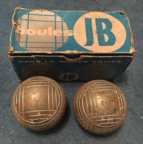 Boules en acier JB